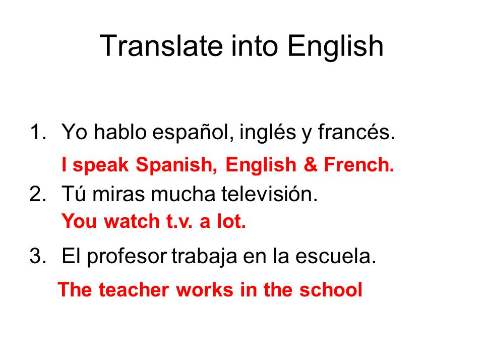 Translate into English