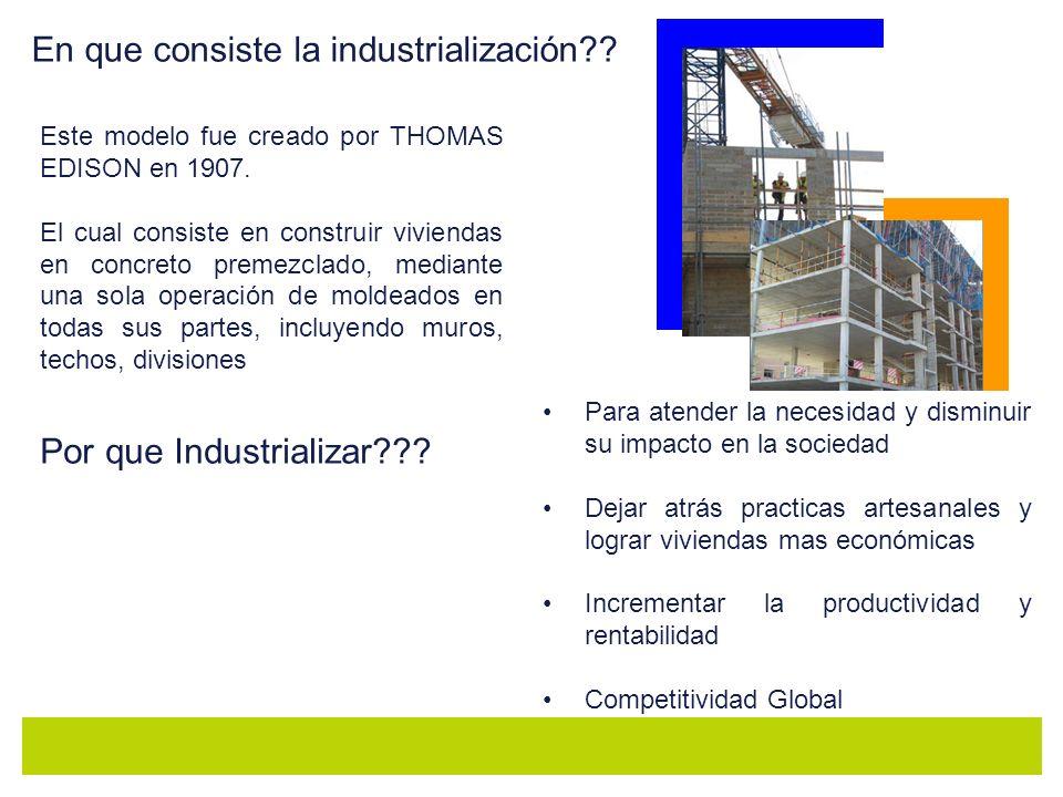 En que consiste la industrialización