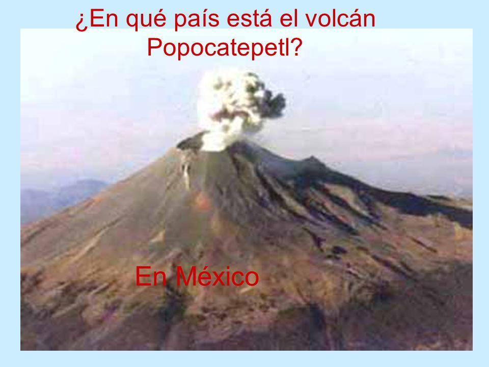 ¿En qué país está el volcán