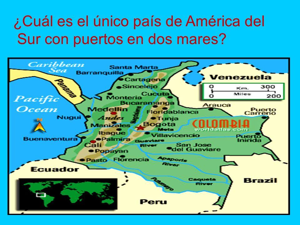 ¿Cuál es el único país de América del