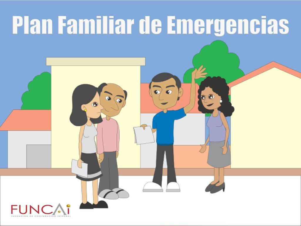 plan de emergencia familiar