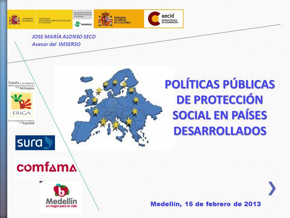 POLÍTICAS PÚBLICAS DE PROTECCIÓN SOCIAL EN PAÍSES DESARROLLADOS