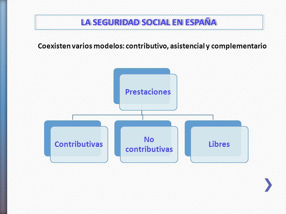LA SEGURIDAD SOCIAL EN ESPAÑA