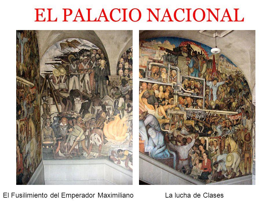EL PALACIO NACIONAL El Fusilimiento del Emperador Maximiliano