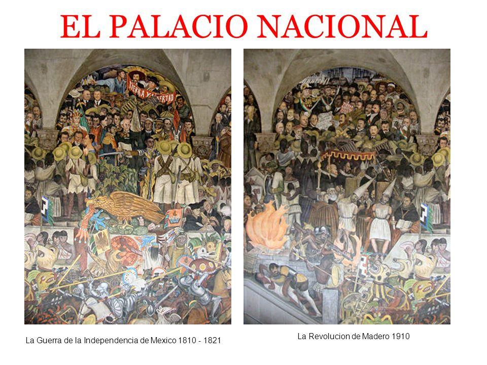 EL PALACIO NACIONAL La Revolucion de Madero 1910