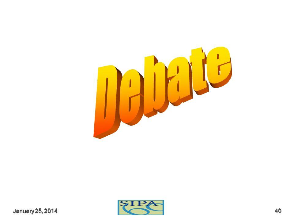 Debate March 24, 2017