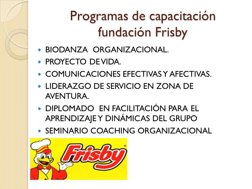 Programas de capacitación fundación Frisby