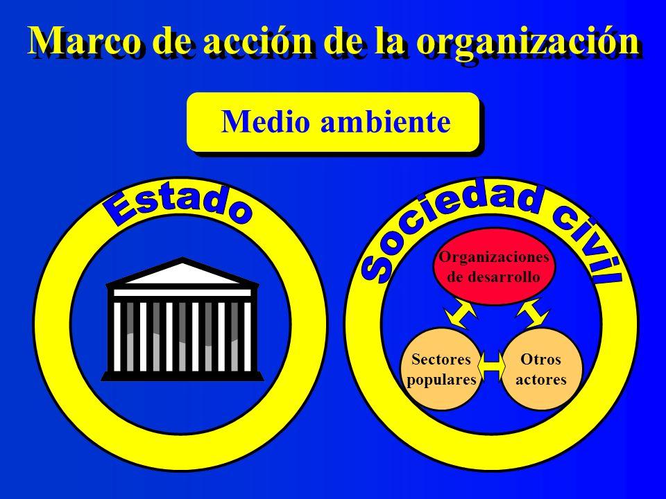 Marco de acción de la organización
