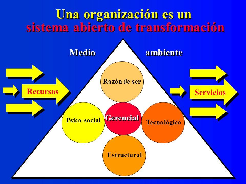 sistema abierto de transformación