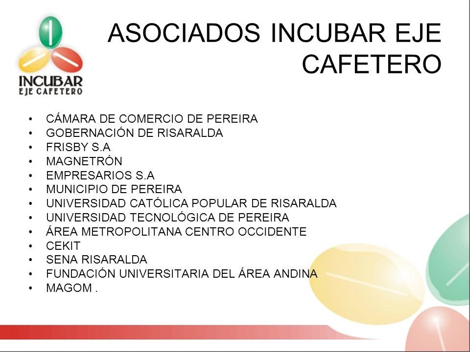 ASOCIADOS INCUBAR EJE CAFETERO