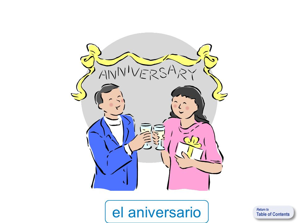 el aniversario