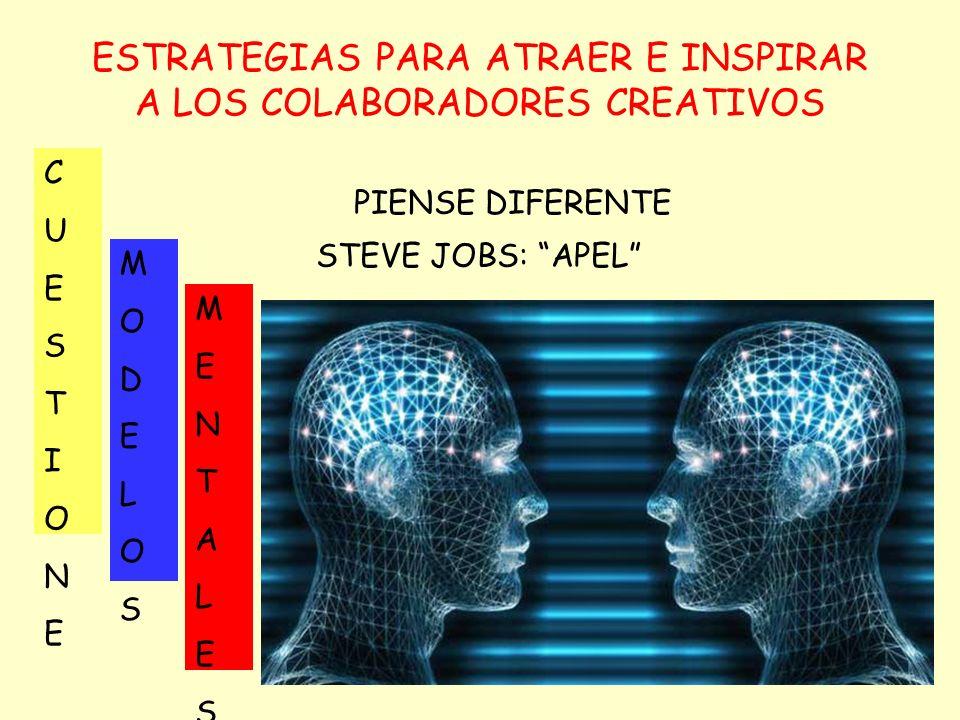 ESTRATEGIAS PARA ATRAER E INSPIRAR A LOS COLABORADORES CREATIVOS