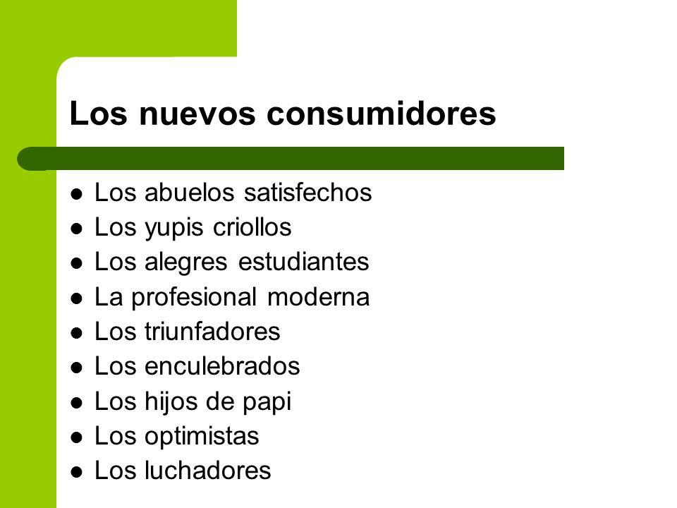 Los nuevos consumidores
