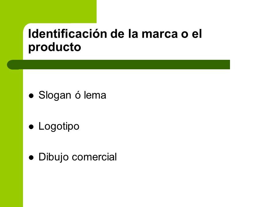 Identificación de la marca o el producto