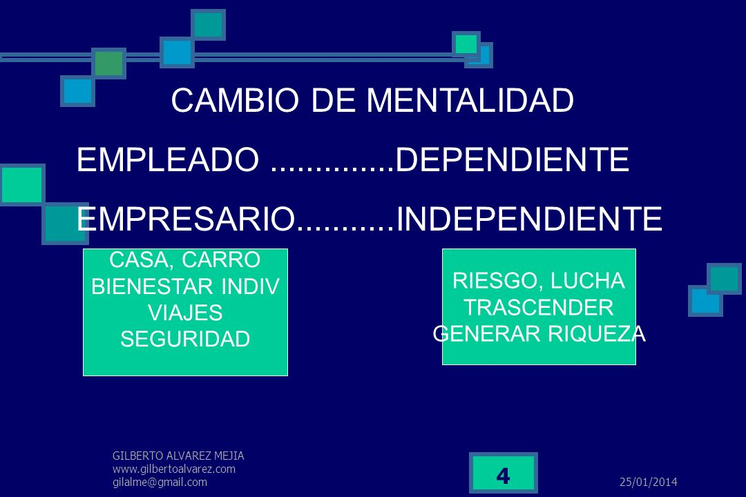 EMPRESARIO...........INDEPENDIENTE