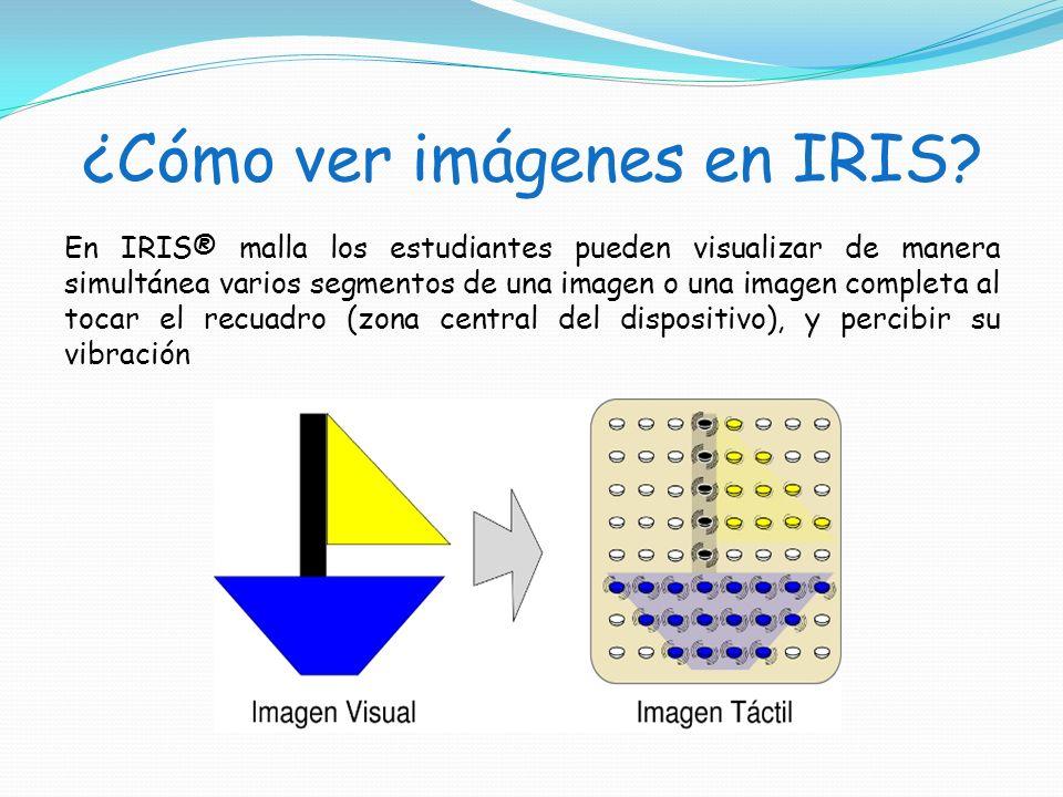 ¿Cómo ver imágenes en IRIS