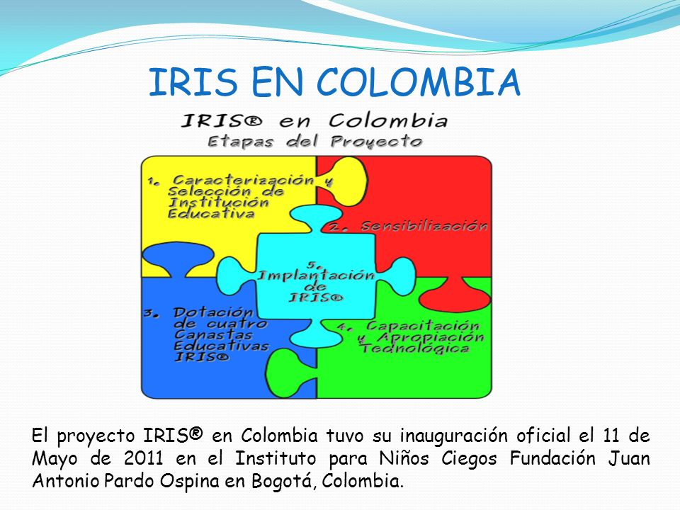 IRIS EN COLOMBIA