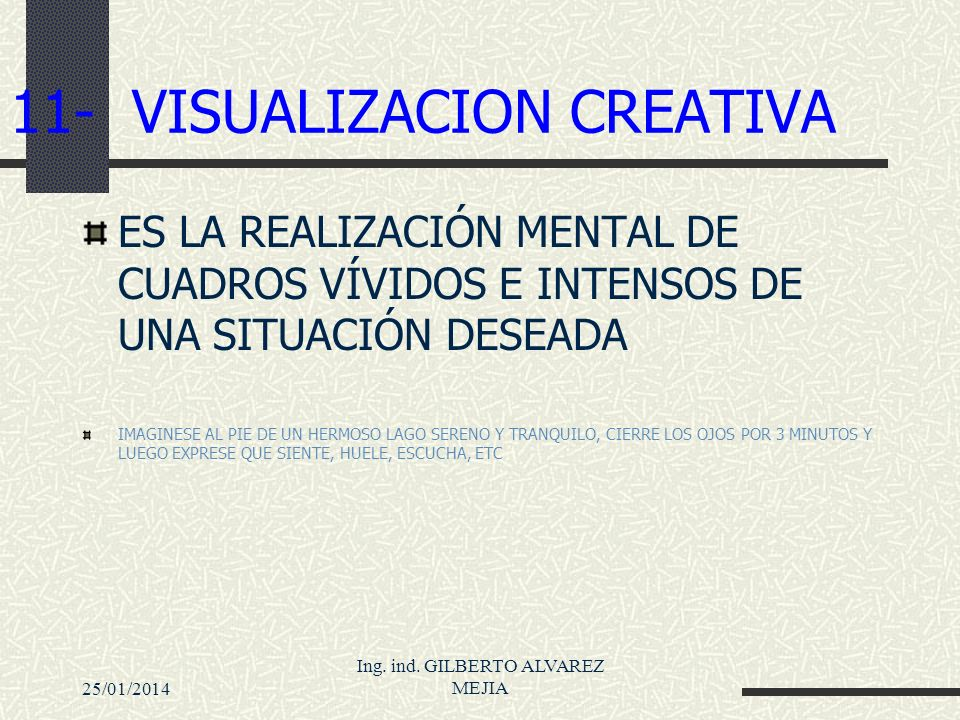 11- VISUALIZACION CREATIVA