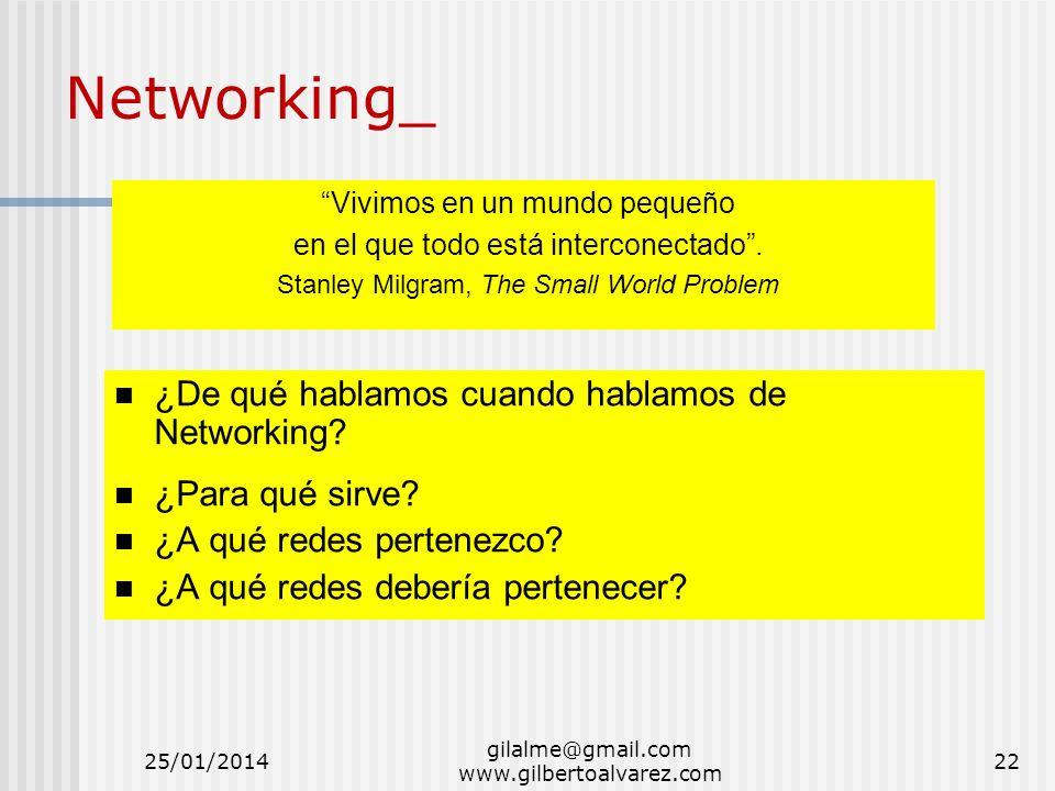 Networking_ ¿De qué hablamos cuando hablamos de Networking