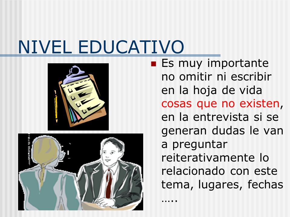 NIVEL EDUCATIVO