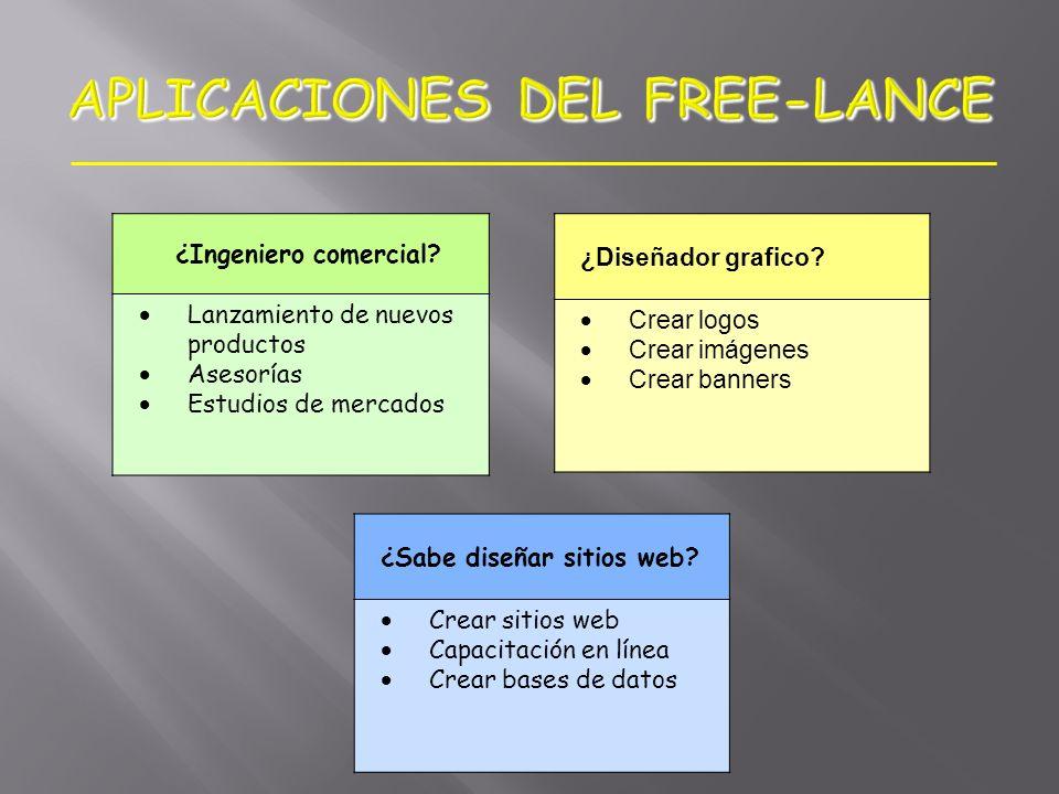 APLICACIONES DEL FREE-LANCE