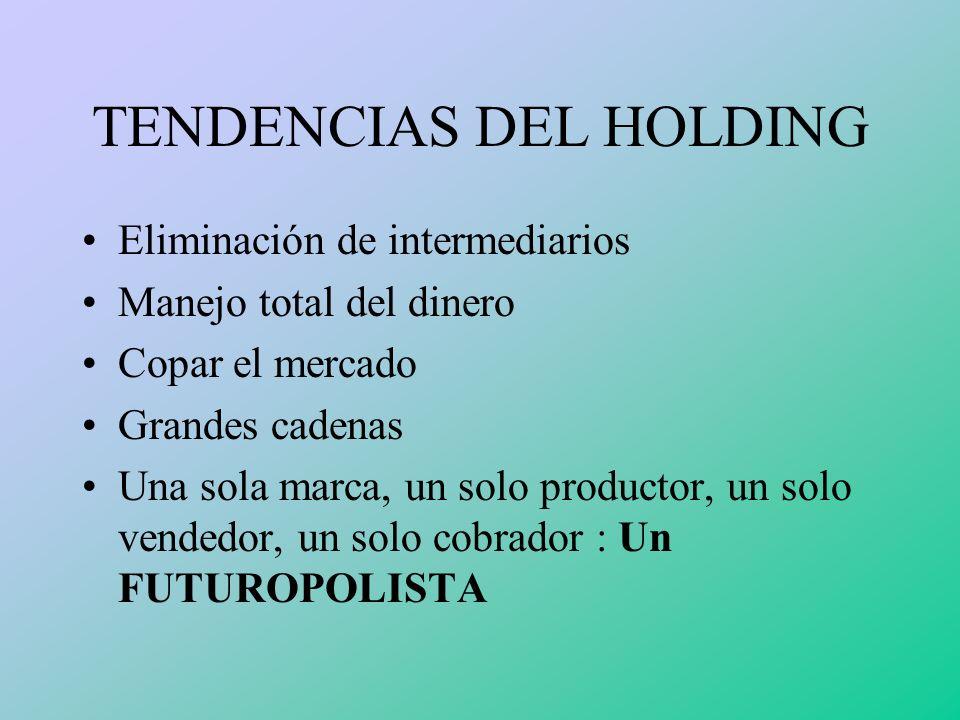 TENDENCIAS DEL HOLDING