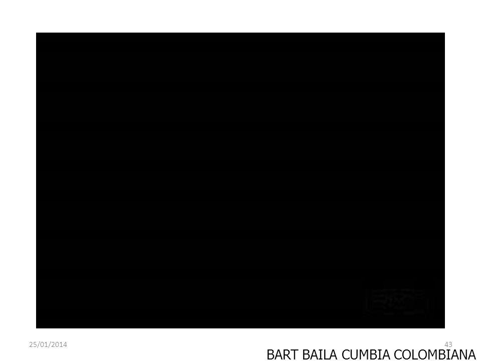 BART BAILA CUMBIA COLOMBIANA