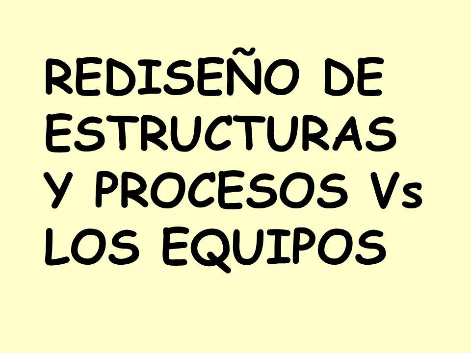REDISEÑO DE ESTRUCTURAS