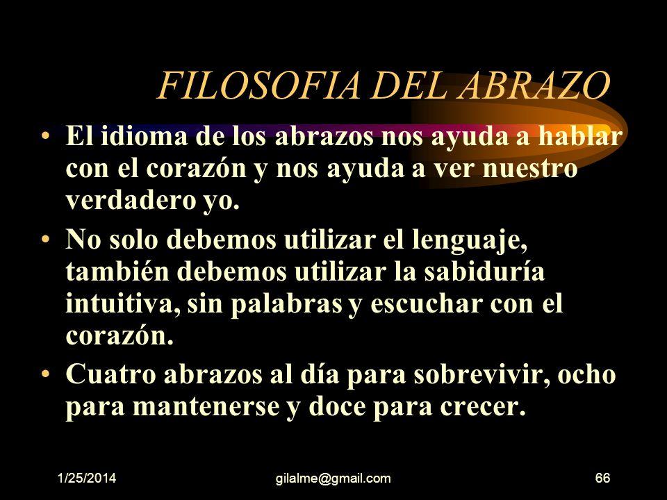 FILOSOFIA DEL ABRAZO El idioma de los abrazos nos ayuda a hablar con el corazón y nos ayuda a ver nuestro verdadero yo.