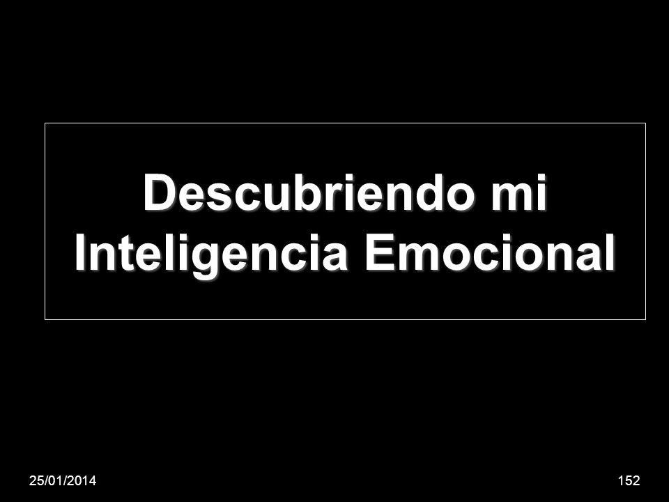 Descubriendo mi Inteligencia Emocional
