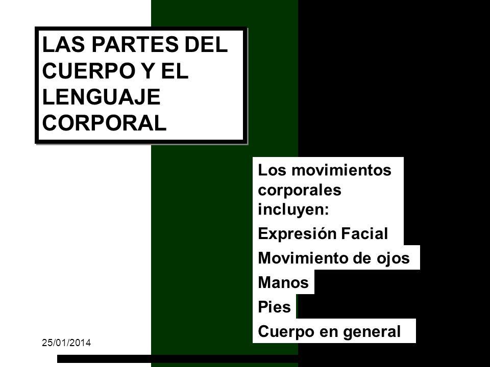 LAS PARTES DEL CUERPO Y EL LENGUAJE CORPORAL