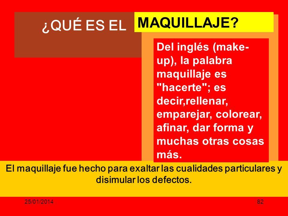 ¿QUÉ ES EL MAQUILLAJE