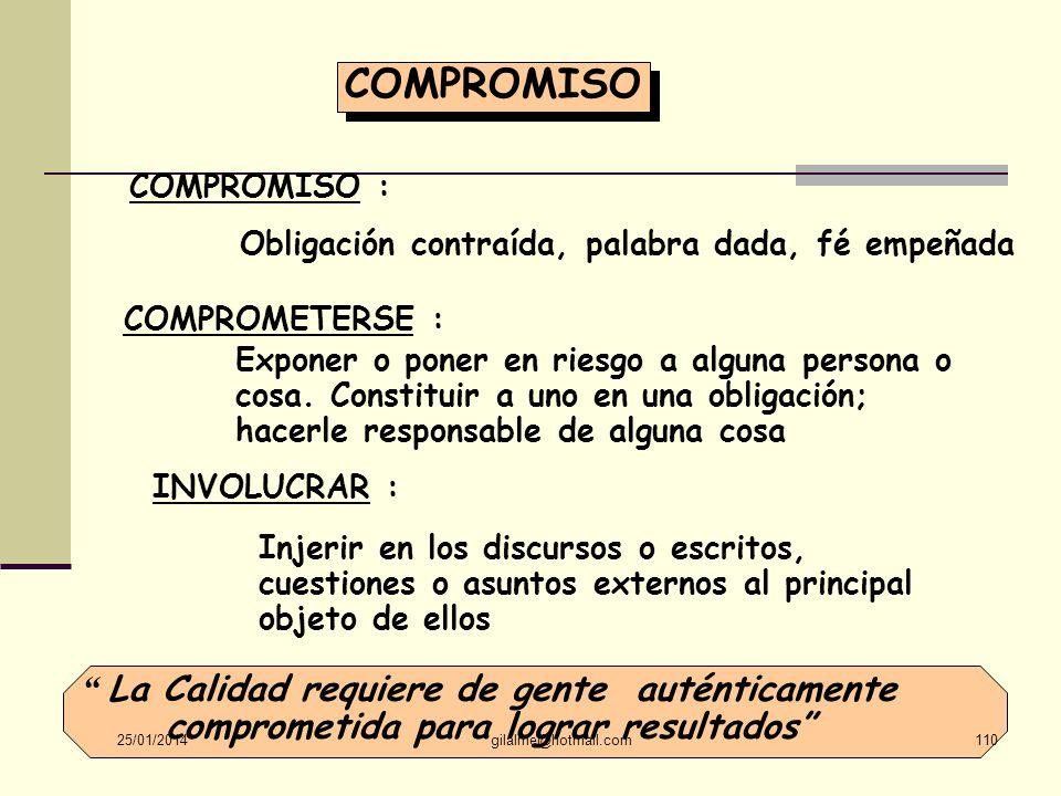 COMPROMISOCOMPROMISO : Obligación contraída, palabra dada, fé empeñada. COMPROMETERSE :