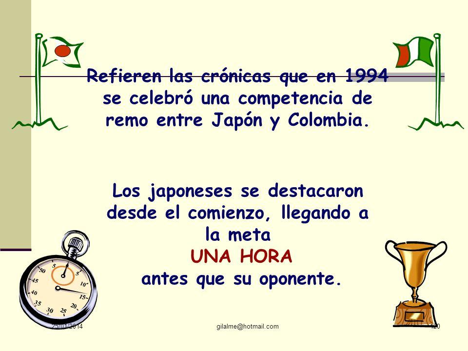Los japoneses se destacaron desde el comienzo, llegando a la meta
