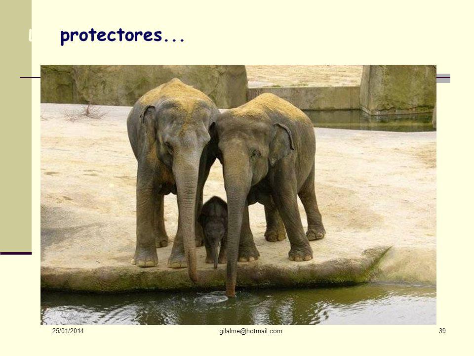 Los protectores... 24/03/2017 gilalme@hotmail.com