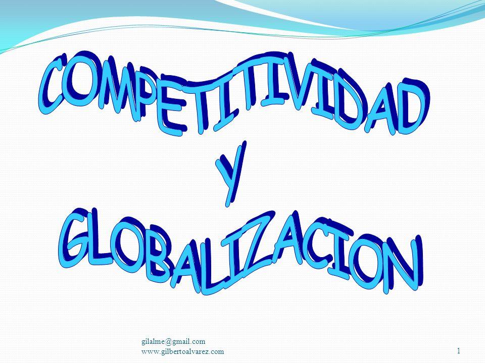 COMPETITIVIDAD Y GLOBALIZACION