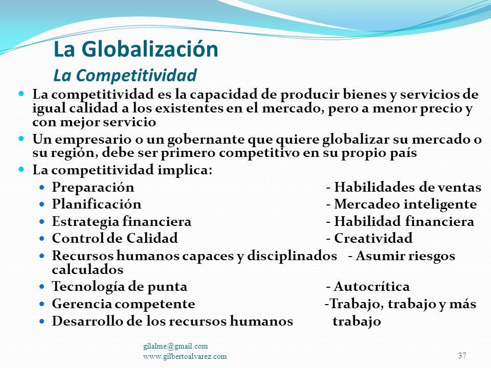 La Globalización La Competitividad