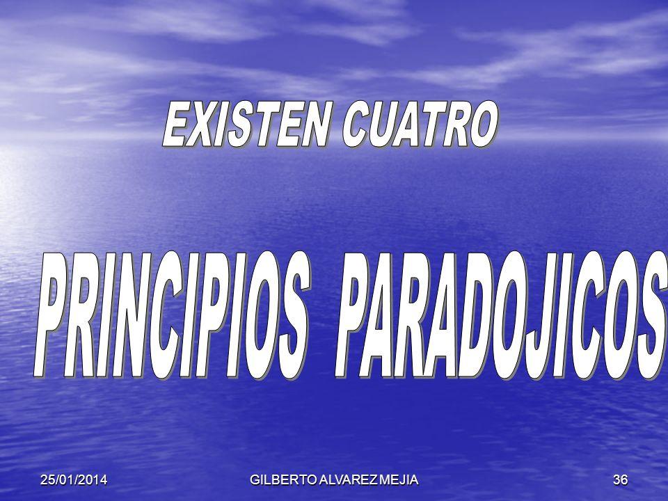 PRINCIPIOS PARADOJICOS