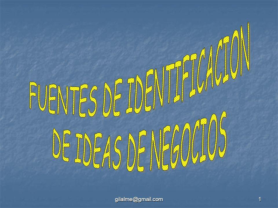 FUENTES DE IDENTIFICACION