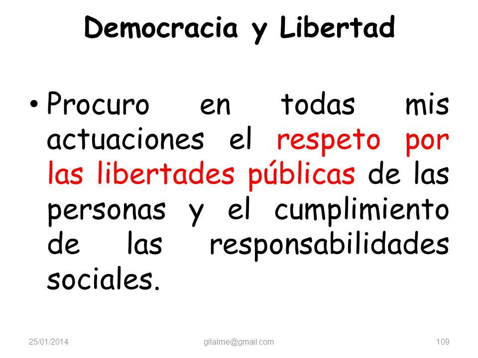 Democracia y Libertad