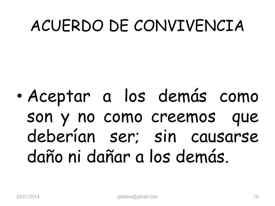 ACUERDO DE CONVIVENCIA
