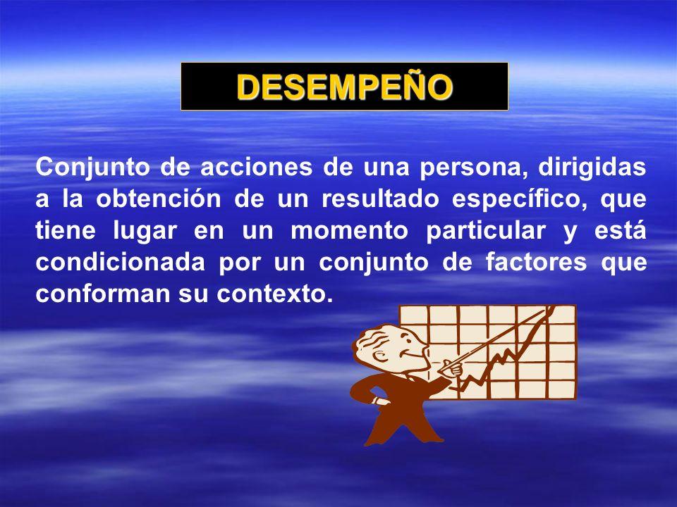 DESEMPEÑO
