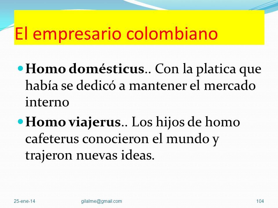 El empresario colombiano