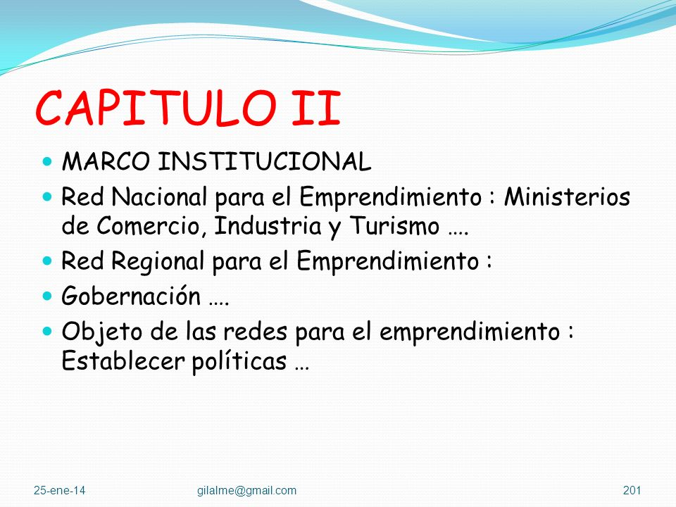 CAPITULO II MARCO INSTITUCIONAL