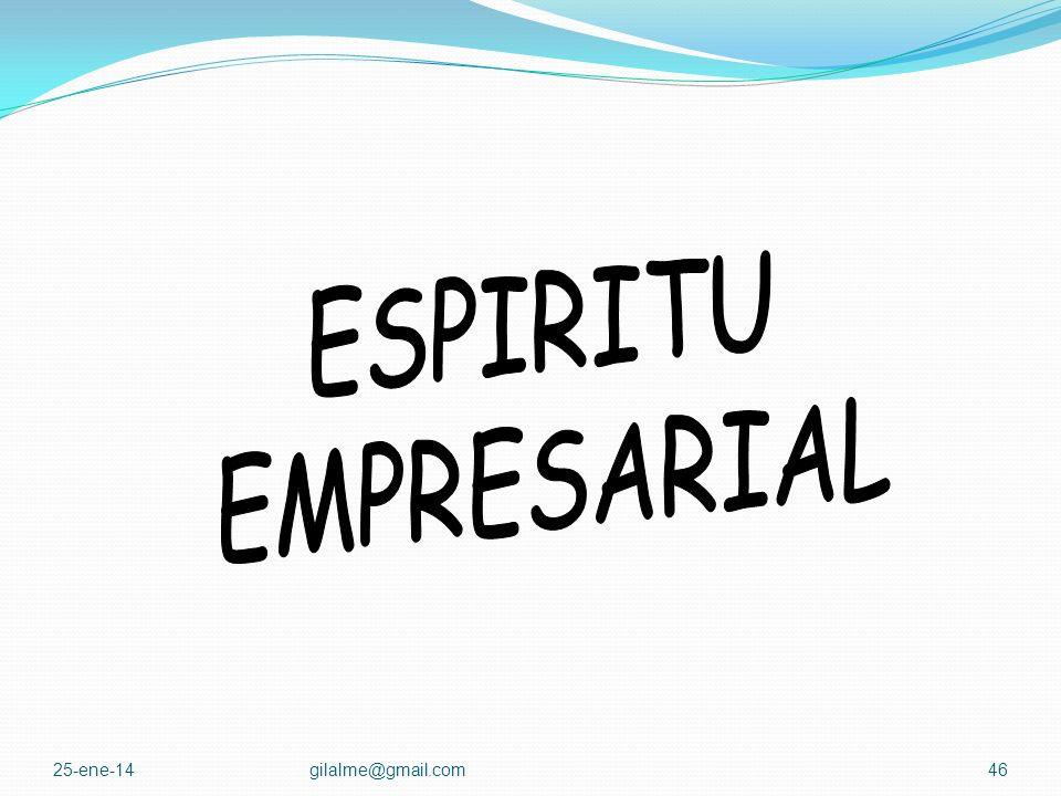 ESPIRITU EMPRESARIAL 24-mar-17 gilalme@gmail.com