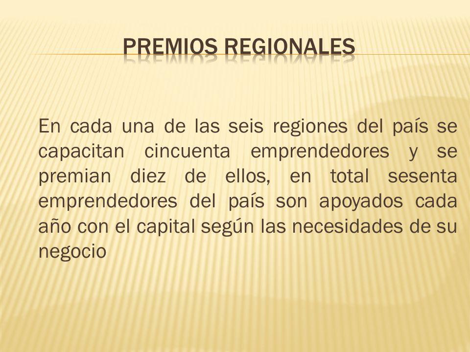 Premios regionales