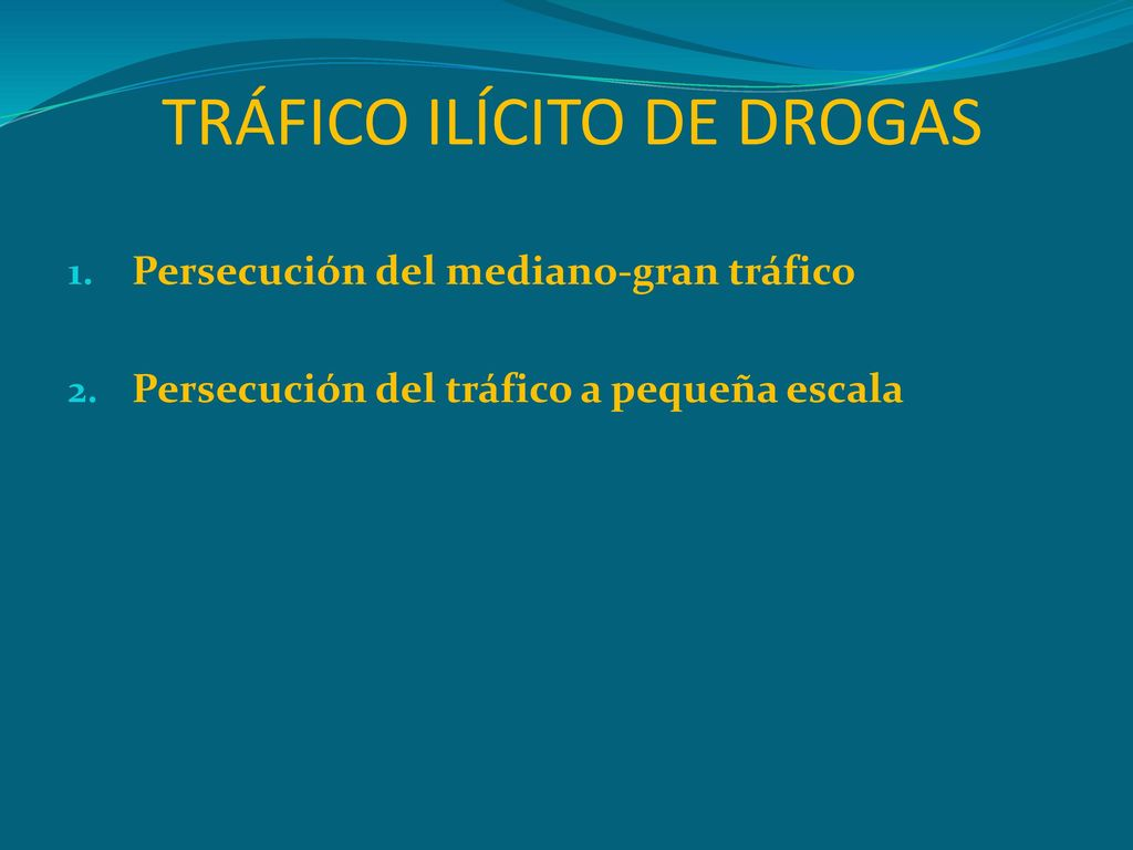 Aspectos legales de las drogas de abuso ppt descargar for Porte y trafico de estupefacientes codigo penal