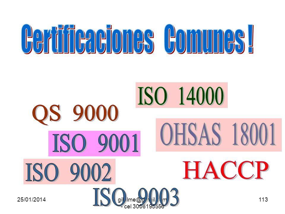 Certificaciones Comunes !