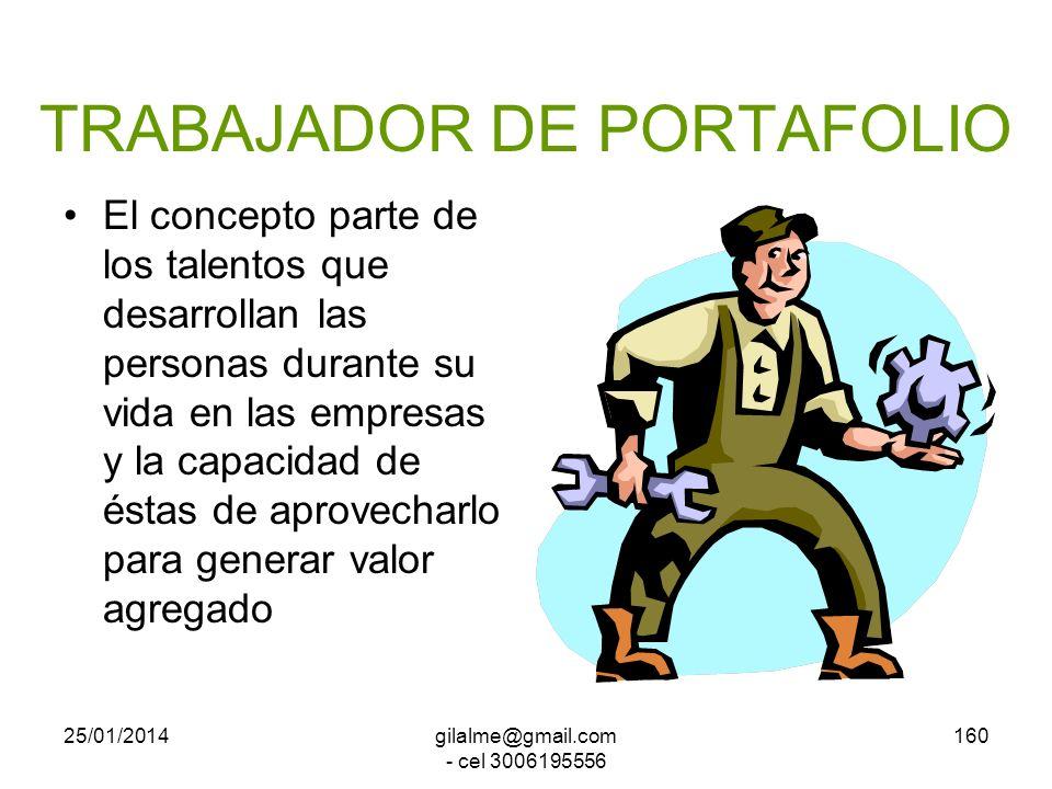 TRABAJADOR DE PORTAFOLIO