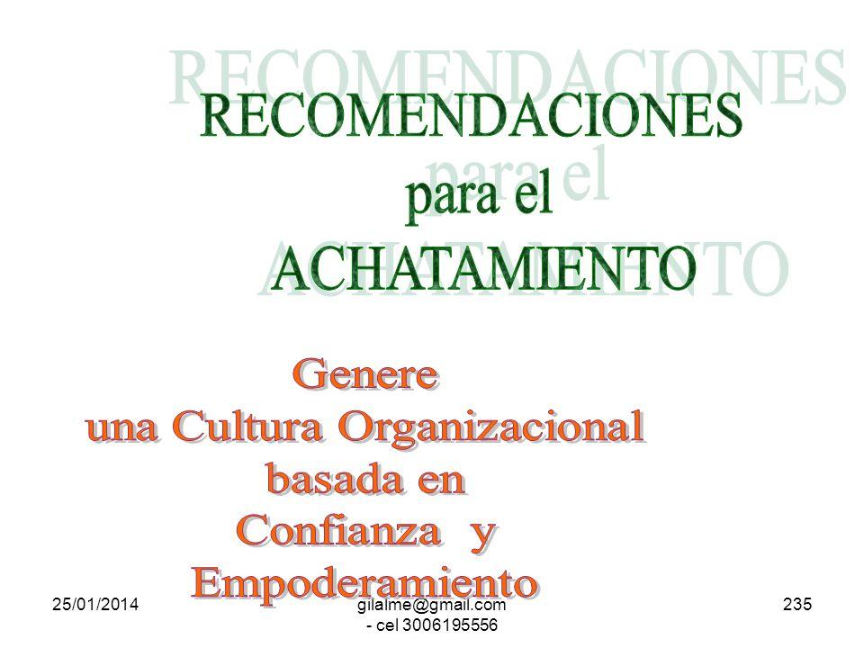 una Cultura Organizacional basada en Confianza y Empoderamiento